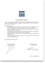 certificate_kalitepolitikasi