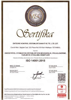 kalite-ENTEGRE-ISO14001