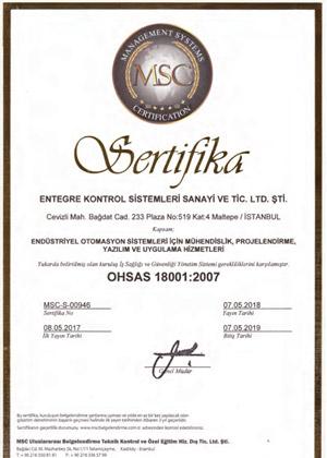 kalite-ENTEGRE-OHSAS-18001